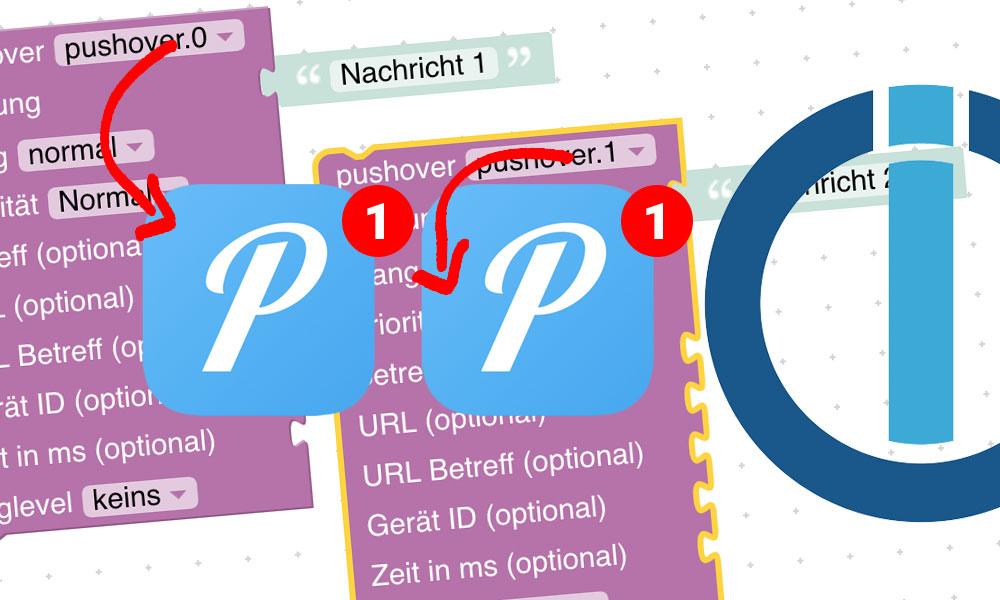 So sendest du verschiedene Nachrichten per Pushover an verschiedene Empfänger