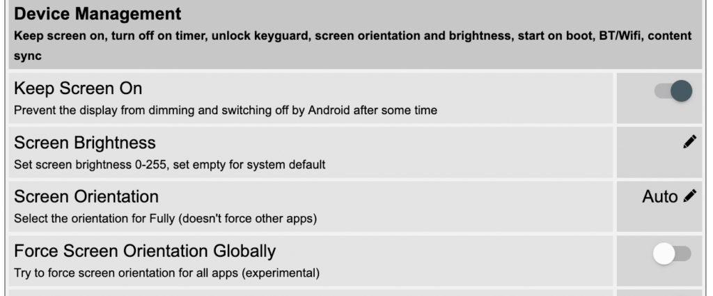 Wenn du deine Smart Home-Visualisierung über ein Android- oder Fire HD-Tablet ausgibst, erfährst du in diesem Artikel, wie du dieses bei Bewegung automatisch ein- und ausschalten kannst.