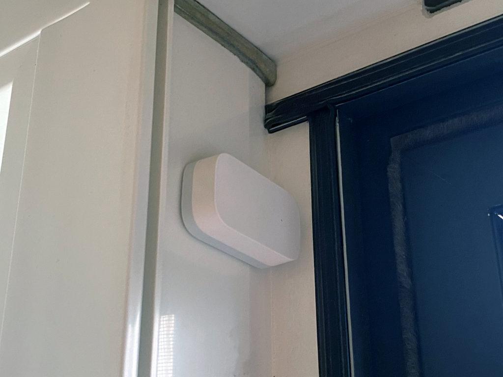 Aqara Fenstersensor versteckt einbauen
