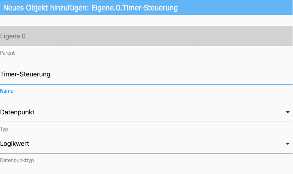 Einen einfachen Countdown-Timer kannst du mithilfe eines Datenpunkts und ein paar Blockly-Blöcken schnell selbst erstellen. Hier erfährst du, wie das funktioniert.