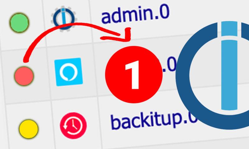 Du kannst dich ganz bequem über Push oder E-Mail über den Status aller aktiven iobroker-Instanzen informieren lassen. Sobald eine Instanz abgestürzt oder gestoppt wurde, erhälst du eine Mitteilung. Dafür ist lediglich ein einfaches Script notwendig.