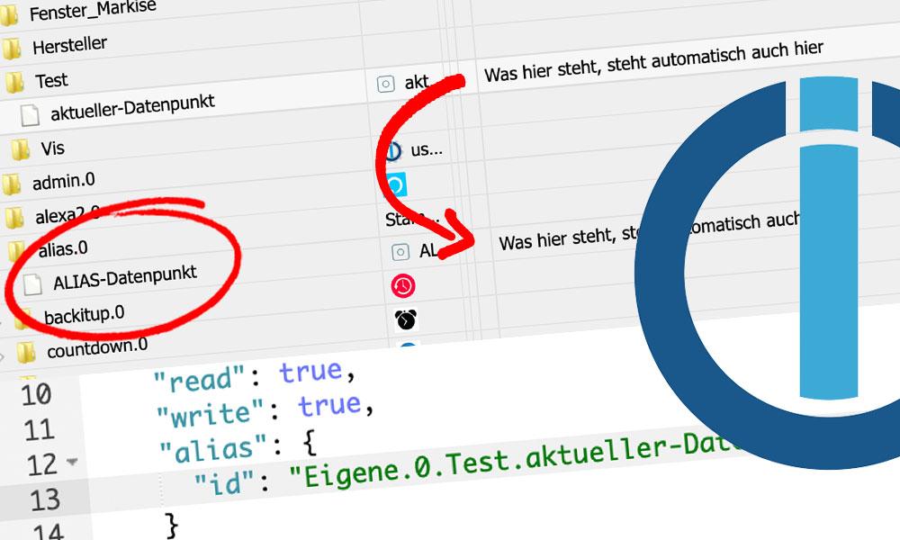 Wie du bestehende Datenpunkte miteinander verküpfen kannst oder für einen Datenpunkt einen einen Alias-Datenpunkt erstellst, erfährst du in diesem Artikel.