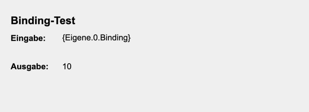 """Mit einem sogenannten """"Binding"""" kannst du in deiner Visualisierung dynamisch Farben ausgeben, Formatierungen anpassen, Berechnungen durchführen oder bedingungsabhängig verschiedene Werte verändern."""