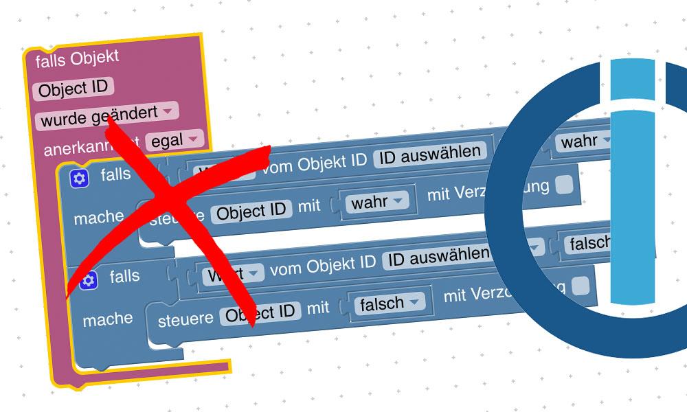 Wenn deine Automatisierungen auf Blockly-Scripten aufbaut und du diese immer wieder erweiterst, kann es schnell unübersichtlich werden. Wie du deine Blockly-Scripte übersichtlich anlegen und optimieren kannst, erfährst du in diesem Artikel.