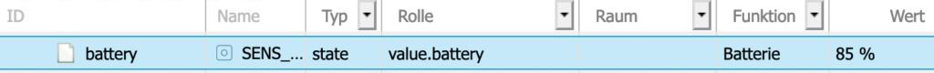 Mit Blockly und dem ID-Selektor kannst ganz einfach automatische Listen erstellen. Zum Beispiel kannst du dir damit ohne zusätzliche Einstellungen alle Devices zusammen mit dem Batteriestand anzeigen kassen. Oder eine Liste aller Kontaktsensoren und deren Status ausgeben. Oder oder ...